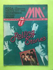 ►►rare Polish magazine Magazyn Muzyczny 1986 The Rolling Stones Chris de Burgh