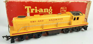 TRIANG R155 SWITCHER #5007 EARLY 1957 VERSION GOOD RUNNER+COND BOXED OO(WF)