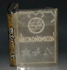 The Necronomicon Black Magic Illustrated Scarce Signed Numbered Fine Binding 1st