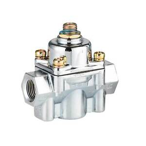 Holley Low Pressure Adjustable Fuel Pressure Regulator Suited ToBlueElectricPump