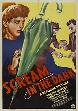 A Scream In The Dark (Crime '43) Robert Lowery, Marie McDonald, Edward Brophy.