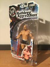 MOC WWE Ruthless Aggression Series 6 Goldberg Action Figure 2003 Jakks Pacific