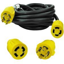 Leisure Cords Nema L14 30 4 Prong Locking 30 Amp Generator Extension Cord 25 Ft