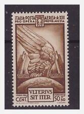 REGNO 1935  -  QUARTA MILIZIA  POSTA AEREA  CENT  50   NUOVO  *
