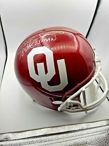 Billy Sims Autographed Signed Oklahoma Sooners Authentic FS Helmet