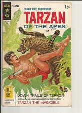 TARZAN #183 VF  VERY FINE  WHITE PAGES SILVER AGE COMIC GOLD KEY 1969