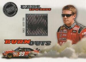 2008 Press Pass Eclipse Burnouts #BO2 Carl Edwards Nice!!!