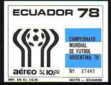 Ecuador Michelnummer Block 86 postfrisch