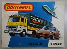 1979/80 1980 Matchbox Katalog / Deutsche Ausgabe / 80 Seiten  German Issue