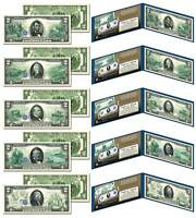 1914 Federal Reserve Bank Notes Hybrid Commemorative - Set of 5 Modern $2 Bills