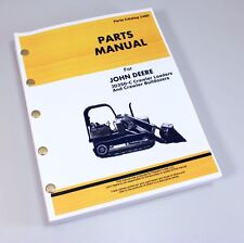 JOHN DEERE 350C CRAWLER TRACTOR LOADER BULLDOZER JD350C PARTS MANUAL CATALOG