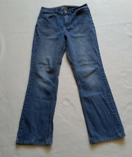 Coldwater Creek Womens Jeans Size 8 Stretchy Straight Leg Mid Rise Medium Wash