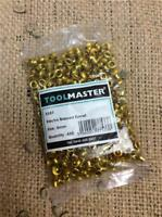 CLEARANCE LOT107 TOOLMASTER  X587 5MM BRASSED EYELETS BAGS OF 450