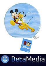 Disney Mickey Mouse 1 CD / DVD Tin Storage Wallet Case Holds 24 discs