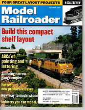 MODEL RAILROADER Magazine October 2002 N Scale Stone Viaduct PalmTrees