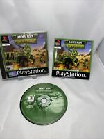 Army Men: Lock 'N' Load (PlayStation 1 Ps1 Game Complete With Manual Free P&p