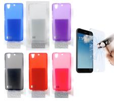 """Cover Custodia Gel Silicone Per ZTE Blade A570 (4G) 5.5"""" + Protezione Opzionale"""