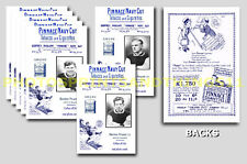 WALSALL  - REPRO 1920's PINNACE A6 ADVERT CARDS - SET OF 13