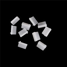 10pcs Clear Rubber A Type Female USB Anti Dust Protector Plugs Stopper Cover FD