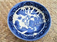Antique YS Blue Willow Bowl Made In Japan 5 1/4""