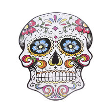 Heat Transfer West Coast Style Skull Iron On Patches For Clothes Decoration abca