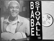 NEW ORLEANS ACOUSTIC BLUES GUITAR LP: BABE STOVALL Flyright 625 Cosimo Matassa