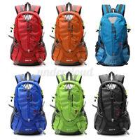 40L Waterproof Outdoor Sport Hiking Camping Travel Backpack Daypack Rucksack Men