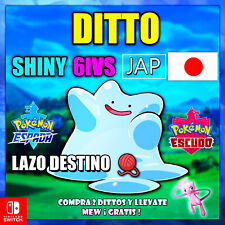 Ditto 6IV Shiny Japones CRIANZA Pokemon Espada/Escudo 🚀ENTREGA EN 10 MINUTOS 🚀