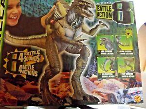 1998 GODZILLA Electronic Battle Action 8 Heavy Hitter Toy Biz NIB