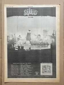 GENESIS SELLING ENGLAND BY THE POUND POSTER SIZED original music press advert fr