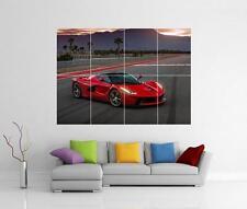 FERRARI LAFERRARI GTB RED SUPERCAR GIANT WALL ART PHOTO PICTURE PRINT POSTER