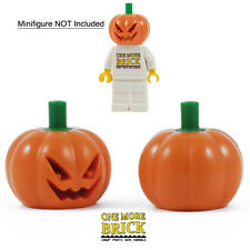 LEGO Pumpkin Head x2 - Halloween spooky Pumkin - Fits minifigures - Pack of 2