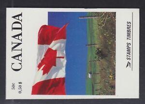 CANADA 1990 MINT SC #BK111A COMPLETE DEFINITIVE BOOKLET CAT $50