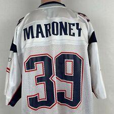 Reebok Laurence Maroney New England Patriots Replica Jersey NFL On Field XL