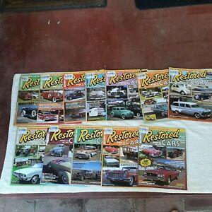 Restored Cars Australia magazines. Lot of 12. 2005-2010
