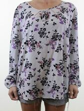George Plus Size Floral Blouse for Women