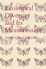 Ecological Diversity and Its Measurement by Anne E. Magurran (1988, Paperback)