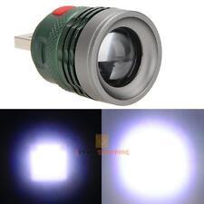 3W USB LED Power Bank Flashlight Head Lamp Light 5V Extension Charger Hose Head
