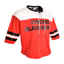 c1722019d BRAND NEW WITH TAGS M CHICAGO BLACKHAWKS WOMENS JERSEY LONG SLEEVE TOP G-III