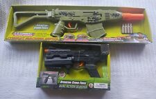 New Operation* Storm* Force* Combat Machine Pistol Transforming Toy Guns