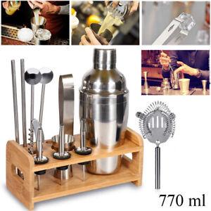 Set 12pz shaker per cocktail kit completo bartender barista mixer 770 ML drink