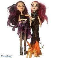 Monster High Dolls Lot Of 2 Raven Dragon Games
