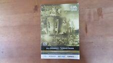 GAA 2009 All Ireland SHC Final official match programme