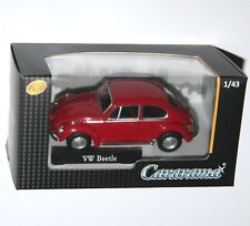 Cararama - VW Volkswagen BEETLE (Red) Model Scale 1:43