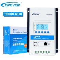 EPEVER MPPT Solar Laderegler 20A 30A 40A 12V/24V Auto PV 100V 2USB Triron DE