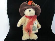 """Boyd's Bear """"Miss Hedda Bearimore"""" #918453 10""""Tall F/S"""