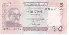 BILLET DU BANGLADESH 53c - 5 Taka 2012 UNC/NEUF