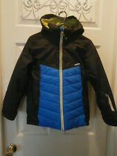 WED'ZE SKI-P 500 KIDS' SKI JACKET - BLACK & BLUE  AGE 8 YEARS  NWT see 12 pics