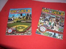 PIRATES ON DECK 2004 AND 2005 MAGAZINES  NEVER USED