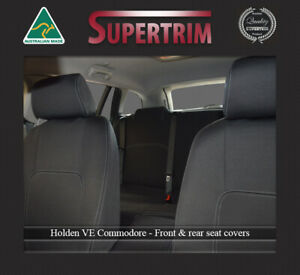 Front FB MP & Rear seat cover fits VE Commodore waterproof premium neoprene